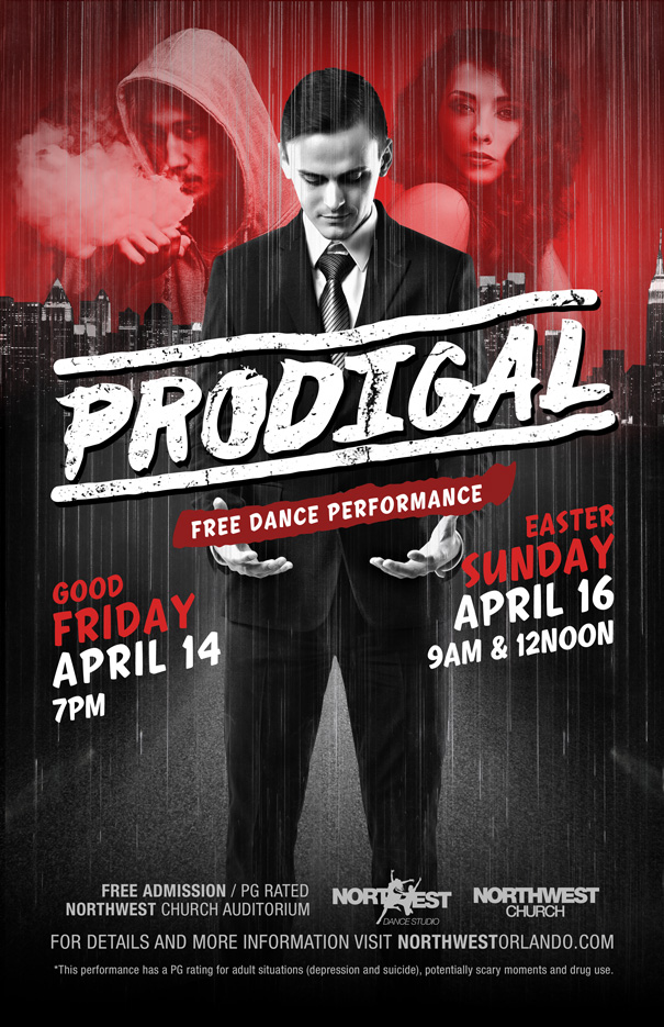 Prodigal Original Dance Production by Northwest Dance Studio